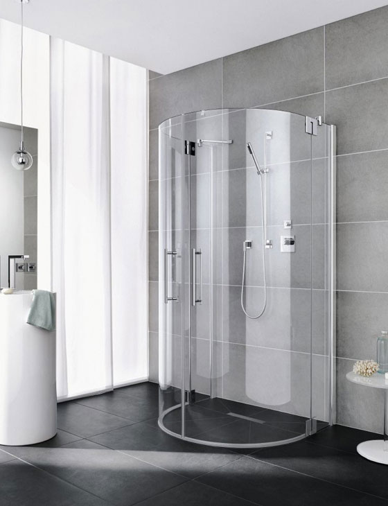 Die Dusche F?r Meister : gestaltet sich der Einstieg in die Kabine besonders komfortabel