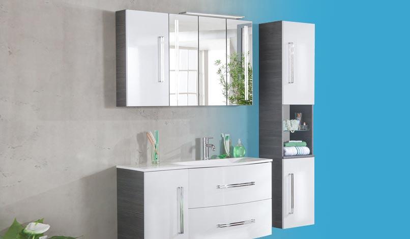 Badmöbel Badspiegel Und Waschtischarmaturen Von Markenherstellern