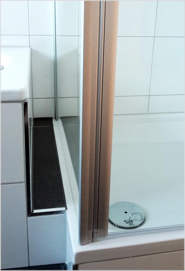 schulte duschkabine sunny pendelt r mit seitenwand. Black Bedroom Furniture Sets. Home Design Ideas