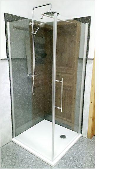 schulte alexa style 2 0 komplett set 90 dreht r mit seitenwand und duschtasse d321606 01 50. Black Bedroom Furniture Sets. Home Design Ideas