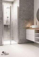 breuer duschabtrennung elana pendelt r in nische. Black Bedroom Furniture Sets. Home Design Ideas
