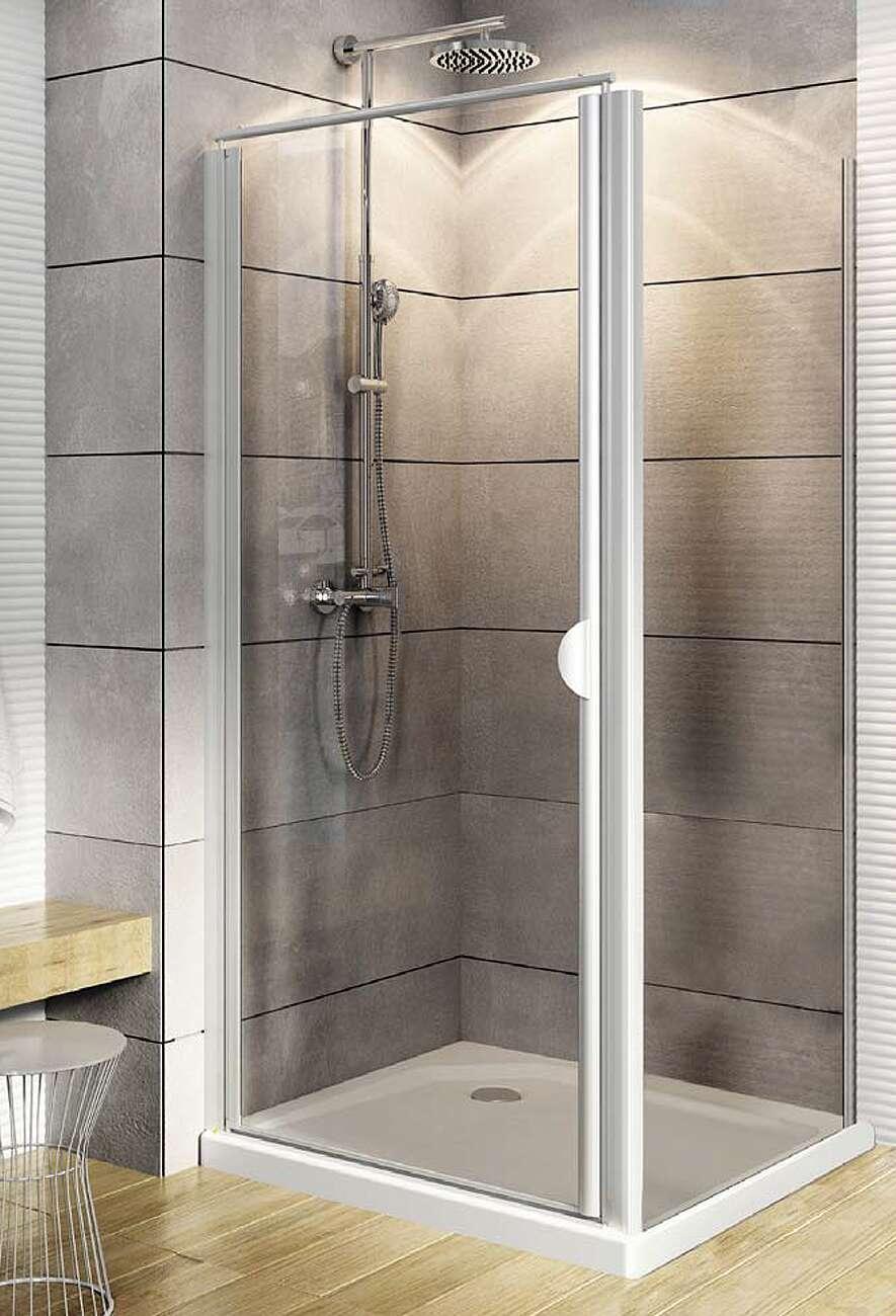 Duschtür für Seitenwand versandfrei bei Duschmeister.de kaufen.