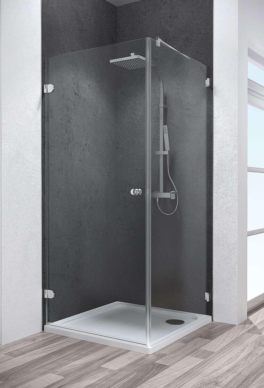 schulte davita dreht r inklusive seitenwand 8 mm d48020. Black Bedroom Furniture Sets. Home Design Ideas