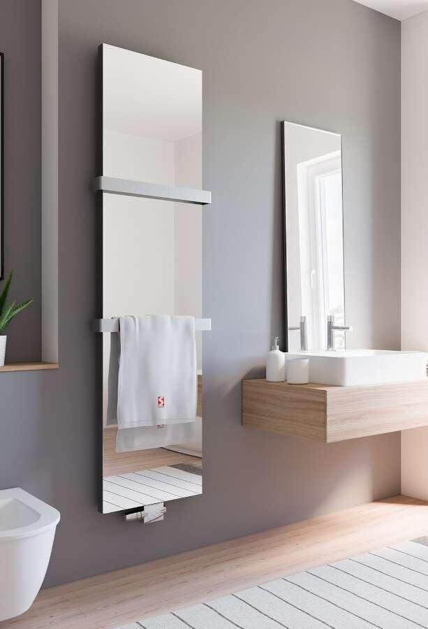 schulte heizk rper new york mit spiegel. Black Bedroom Furniture Sets. Home Design Ideas