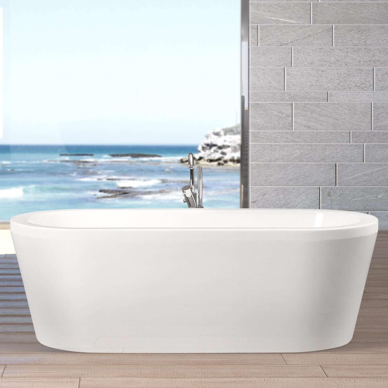 ottofond freistehende badewanne flora 180 x 80 703202bw. Black Bedroom Furniture Sets. Home Design Ideas