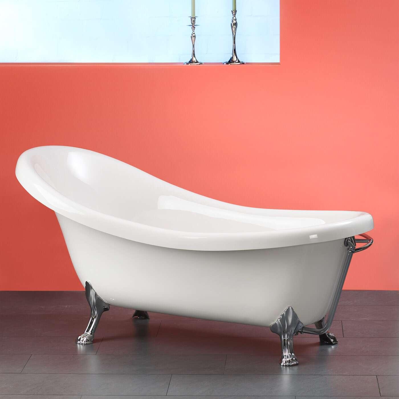ottofond freistehende badewanne azur 175 x 82 5 8515x1bw. Black Bedroom Furniture Sets. Home Design Ideas