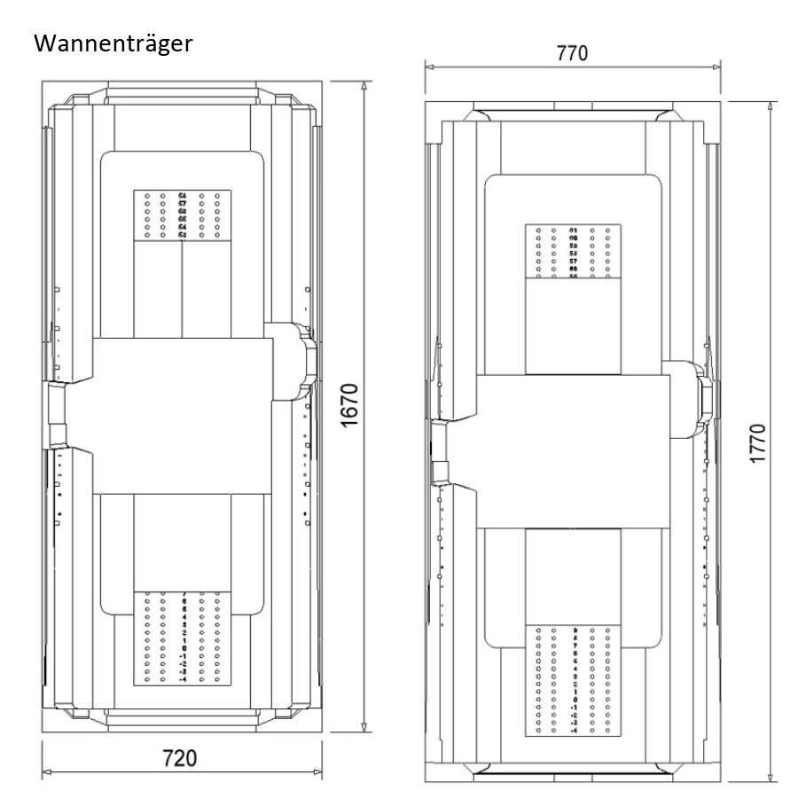 Liebenswert Badmöbel Porta Sammlung Von Ottofond Ottofond Rechteckbadewanne Weiß Bild 3