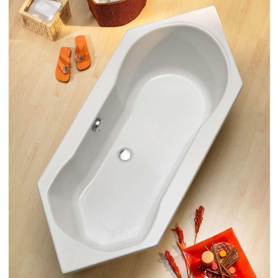 Sechseck badewanne stufe  Sechseck Badewanne Einmauern: Badewanne mit trager einbauen ...