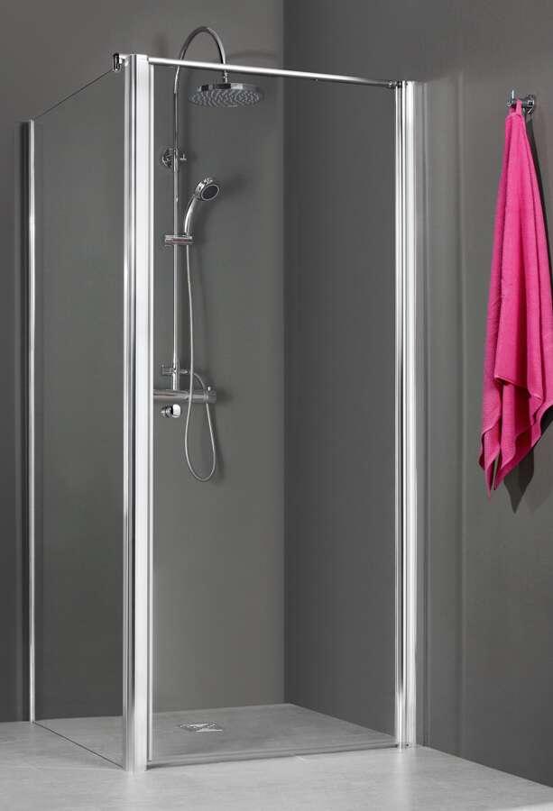 breuer dusche elana seitenwand f r dreh oder pendelt r quick. Black Bedroom Furniture Sets. Home Design Ideas