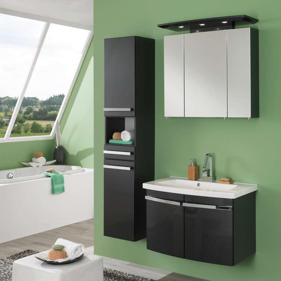 waschplatz bingo 80 anthrazit anthrazit 41494. Black Bedroom Furniture Sets. Home Design Ideas