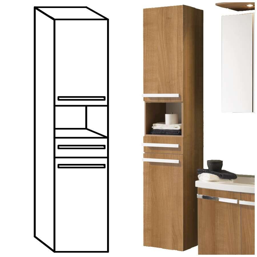 badhochschrank. Black Bedroom Furniture Sets. Home Design Ideas