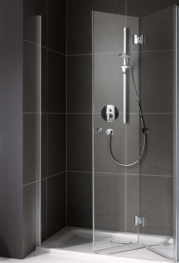 koralle duschkabine myday faltt r 2 teilig f r seitenwand tfta. Black Bedroom Furniture Sets. Home Design Ideas