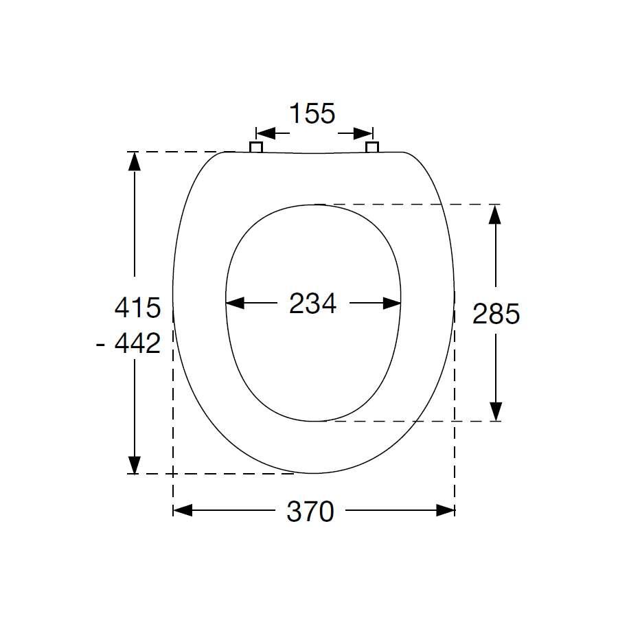 pressalit wc sitz objekta weiss 1738682. Black Bedroom Furniture Sets. Home Design Ideas