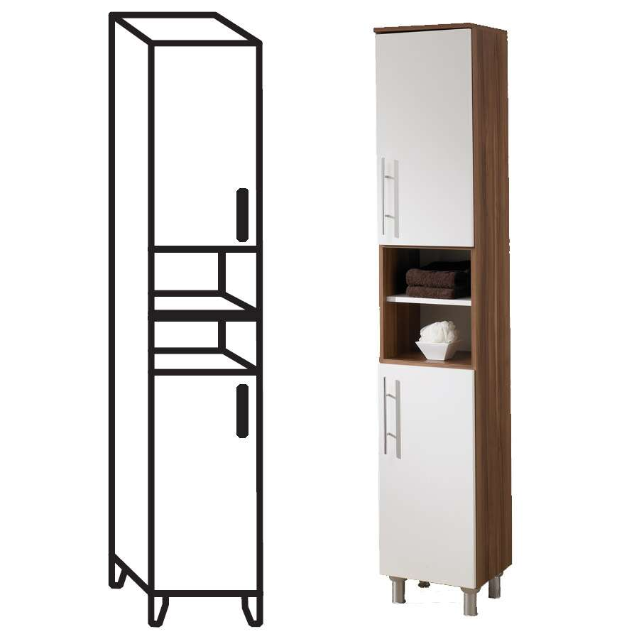 badschrank simply georgia zwetschge wei 84502. Black Bedroom Furniture Sets. Home Design Ideas