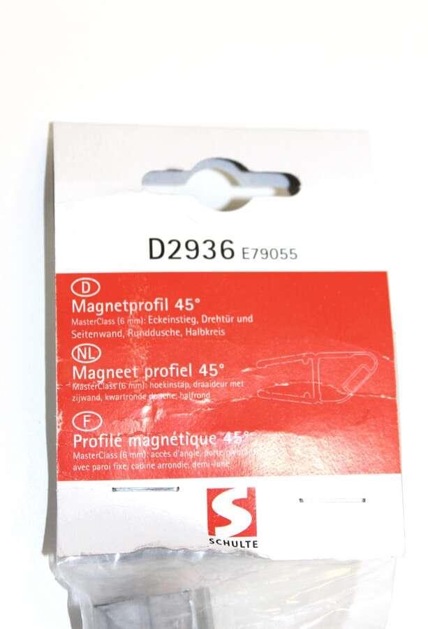 schulte magnetprofil 45 f r masterclass produkte d2936. Black Bedroom Furniture Sets. Home Design Ideas