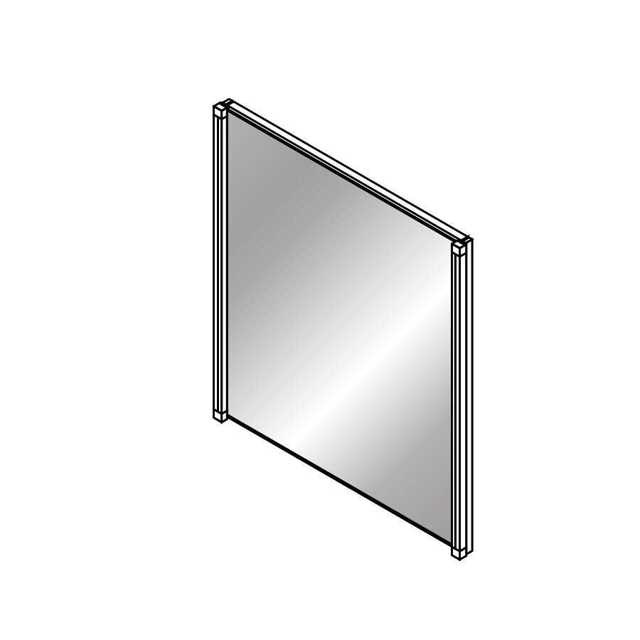 Fackelmann badm bel spiegel 60 cm mit led 82492 - Fackelmann spiegel led ...
