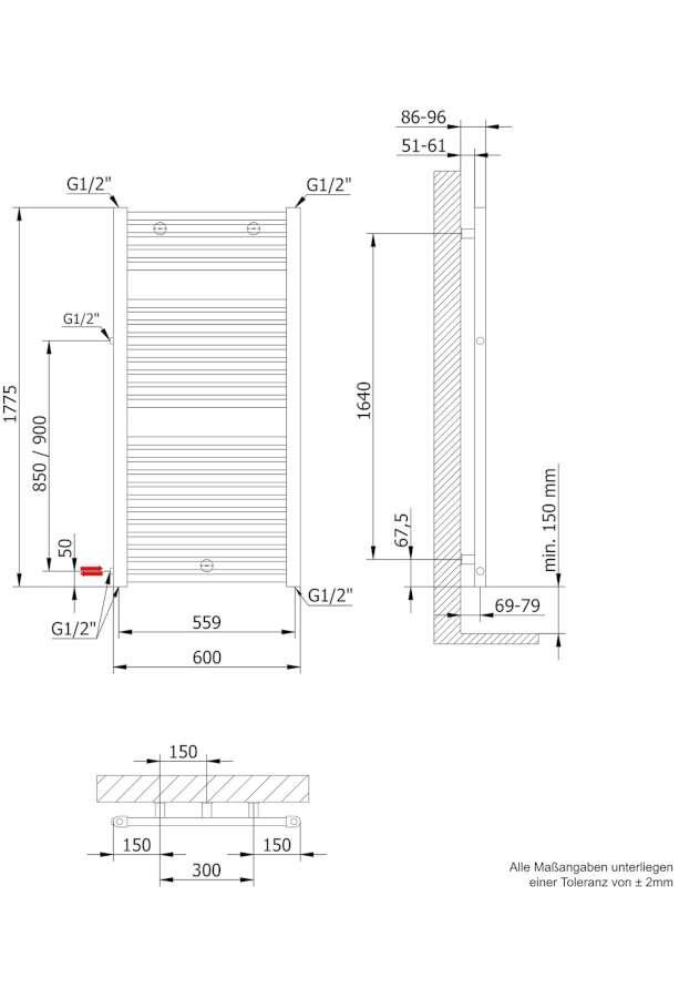 badheizk rper seitlicher anschluss oj84 kyushucon. Black Bedroom Furniture Sets. Home Design Ideas