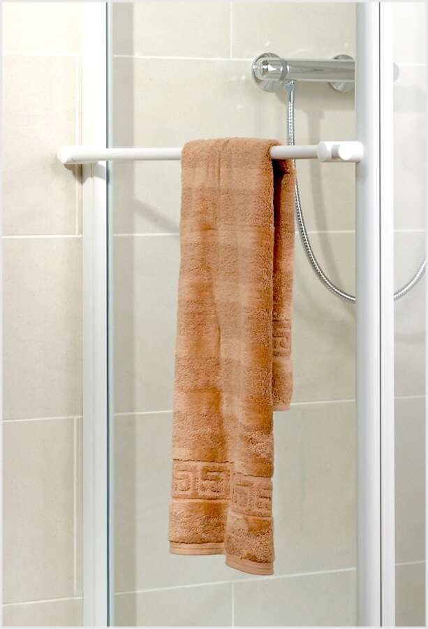 schulte garant verk rzte seitenwand f r pendelt r mit handtuchhalter. Black Bedroom Furniture Sets. Home Design Ideas