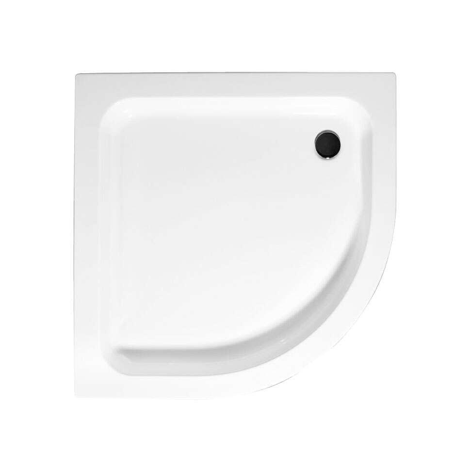 schulte duschwanne f classic f r radius 550 mit sch rze. Black Bedroom Furniture Sets. Home Design Ideas