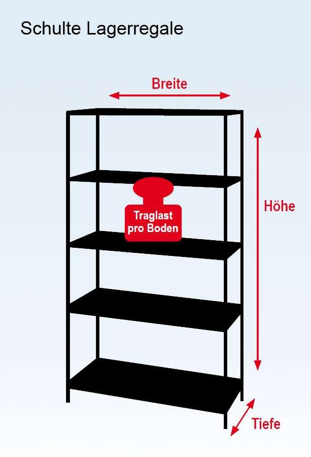 schulte regal zum stecken metall promo lr 18 a366. Black Bedroom Furniture Sets. Home Design Ideas