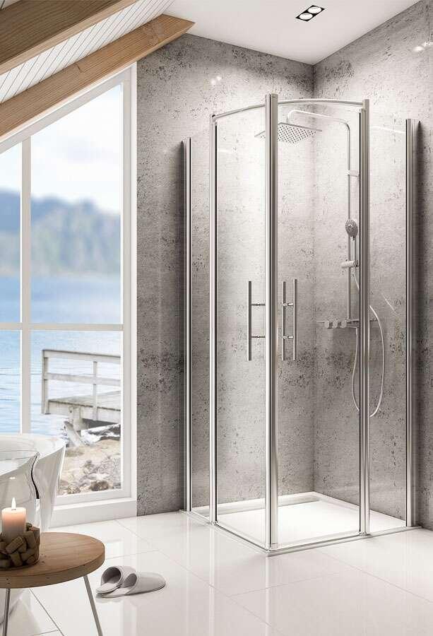 schulte garant delta lux ii eckeinstieg 4 teilig. Black Bedroom Furniture Sets. Home Design Ideas