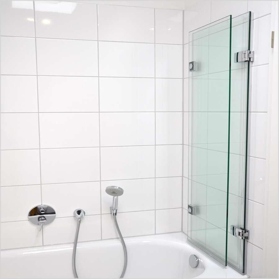 schulte davita badewannenaufsatz 2 teilig 8 mm d48083. Black Bedroom Furniture Sets. Home Design Ideas