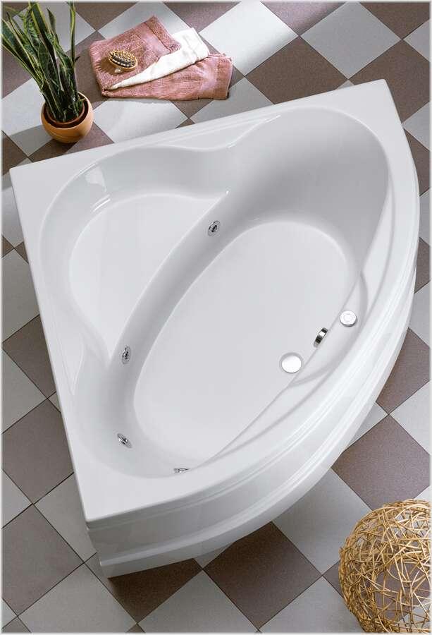 ottofond aktions whirlpool eckbadewanne basis 140 x 140 64101wp. Black Bedroom Furniture Sets. Home Design Ideas