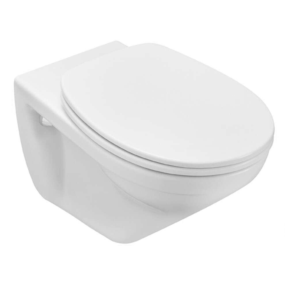 villeroy boch omnia classic wc sitz mit deckel wei 1216287. Black Bedroom Furniture Sets. Home Design Ideas