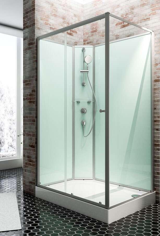 Duschkabine komplett  Komplett-Duschkabinen und Fertigduschen von Schulte, Dusar und Scanbad