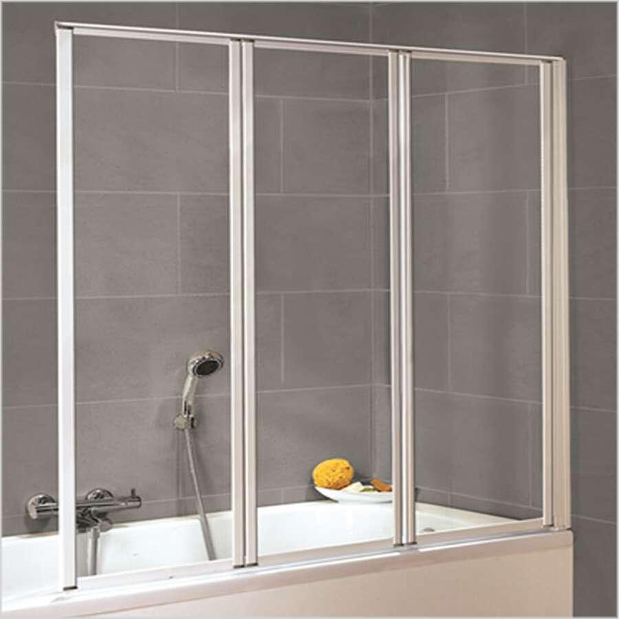 duschmeister 305 badewannenaufsatz 3 teilig d1303. Black Bedroom Furniture Sets. Home Design Ideas