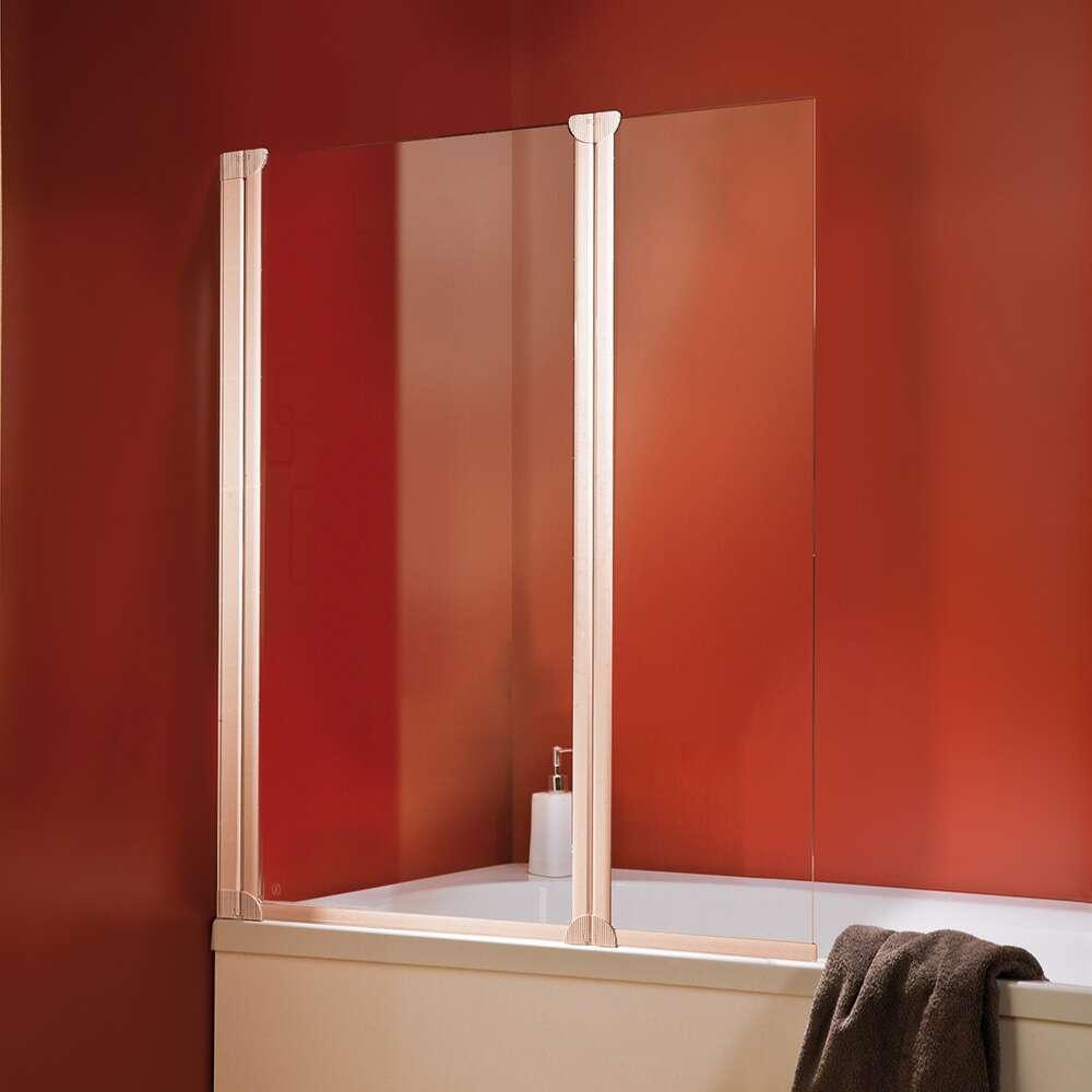 schulte badewannenfaltwand 2 teilig 1300 mm d16533. Black Bedroom Furniture Sets. Home Design Ideas