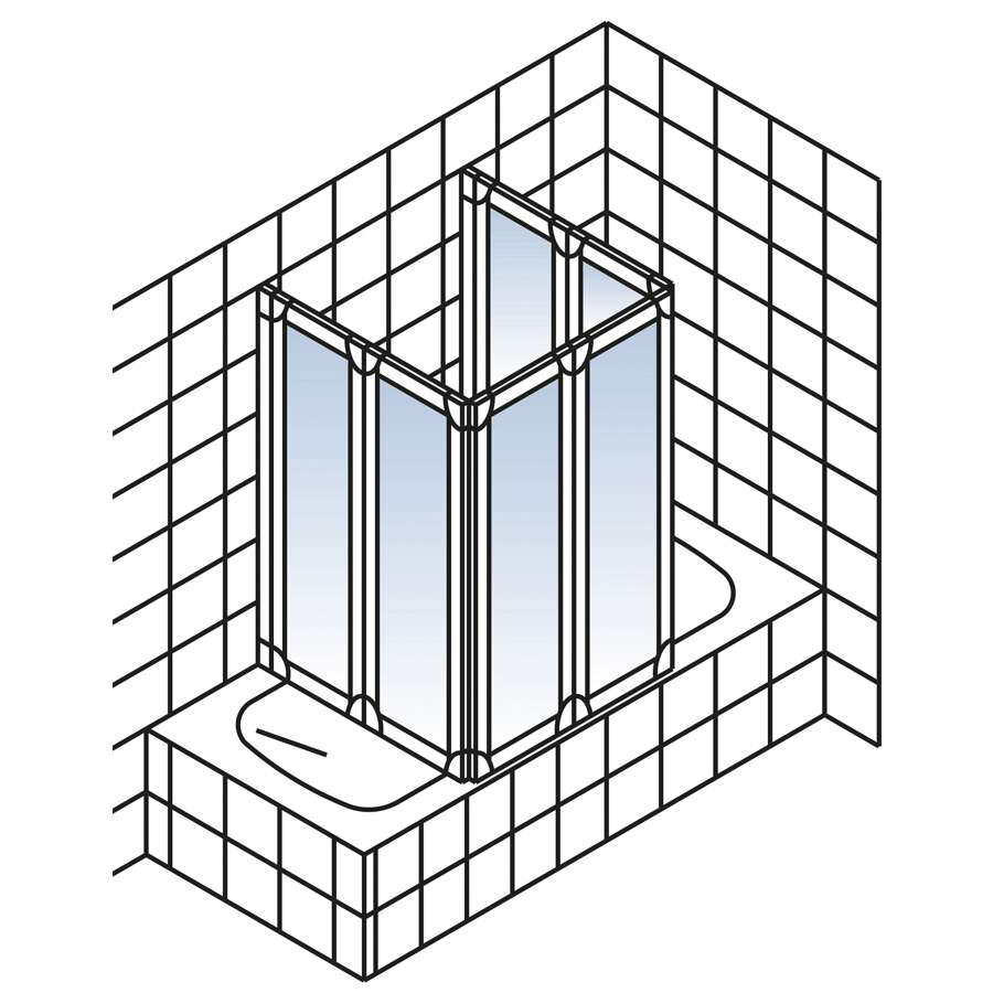 schulte duschwand badewanne duschabtrennung dusche promo d1700 d1700. Black Bedroom Furniture Sets. Home Design Ideas