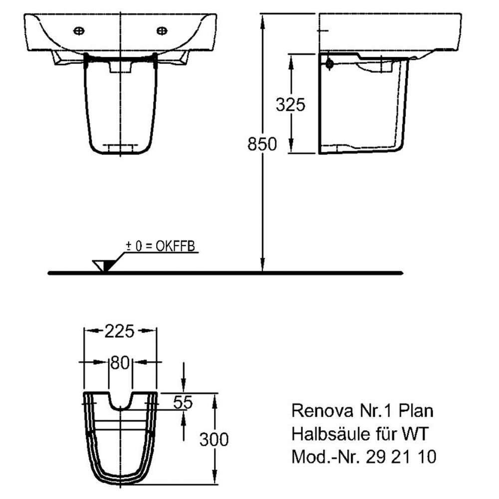 keramag renova nr 1 plan halbs ule wei 1726340. Black Bedroom Furniture Sets. Home Design Ideas