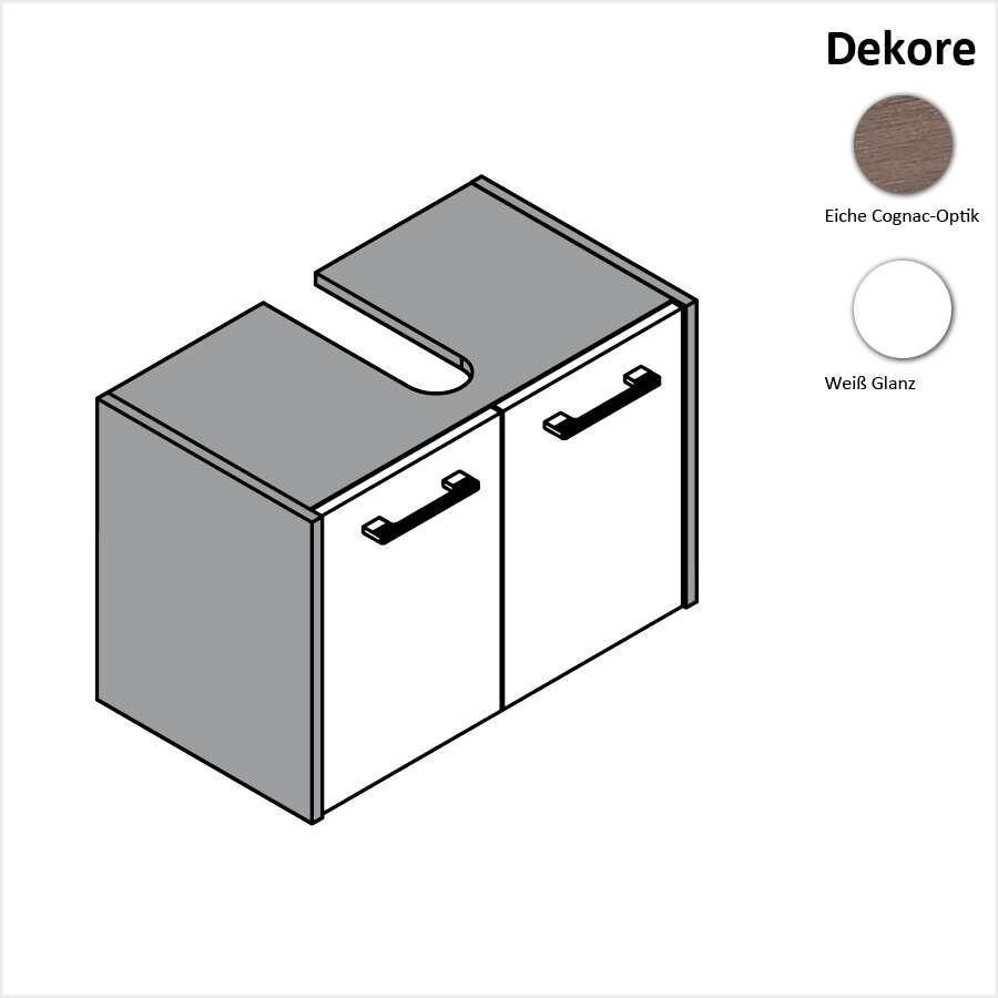 fackelmann malua waschtischunterschrank 60 cm 8188x. Black Bedroom Furniture Sets. Home Design Ideas