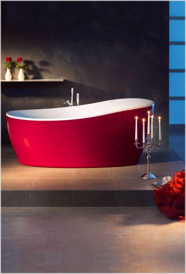 ottofond whirlpool freistehende badewanne aviva 180 x 85. Black Bedroom Furniture Sets. Home Design Ideas