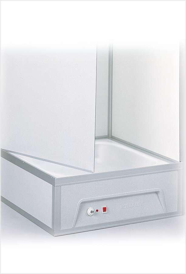 roth komplettdusche eckeinstieg m boiler automatikpumpe. Black Bedroom Furniture Sets. Home Design Ideas