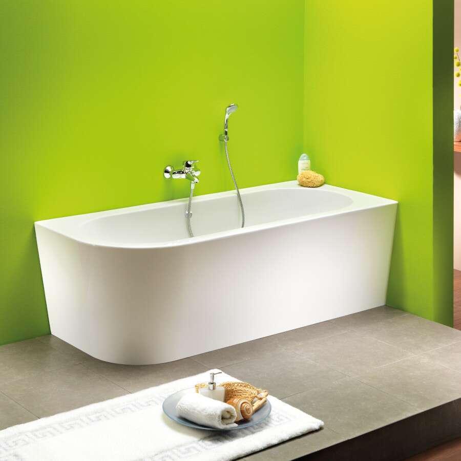 ottofond eckbadewanne modena corner links 178 x 78 cm 703802bw. Black Bedroom Furniture Sets. Home Design Ideas