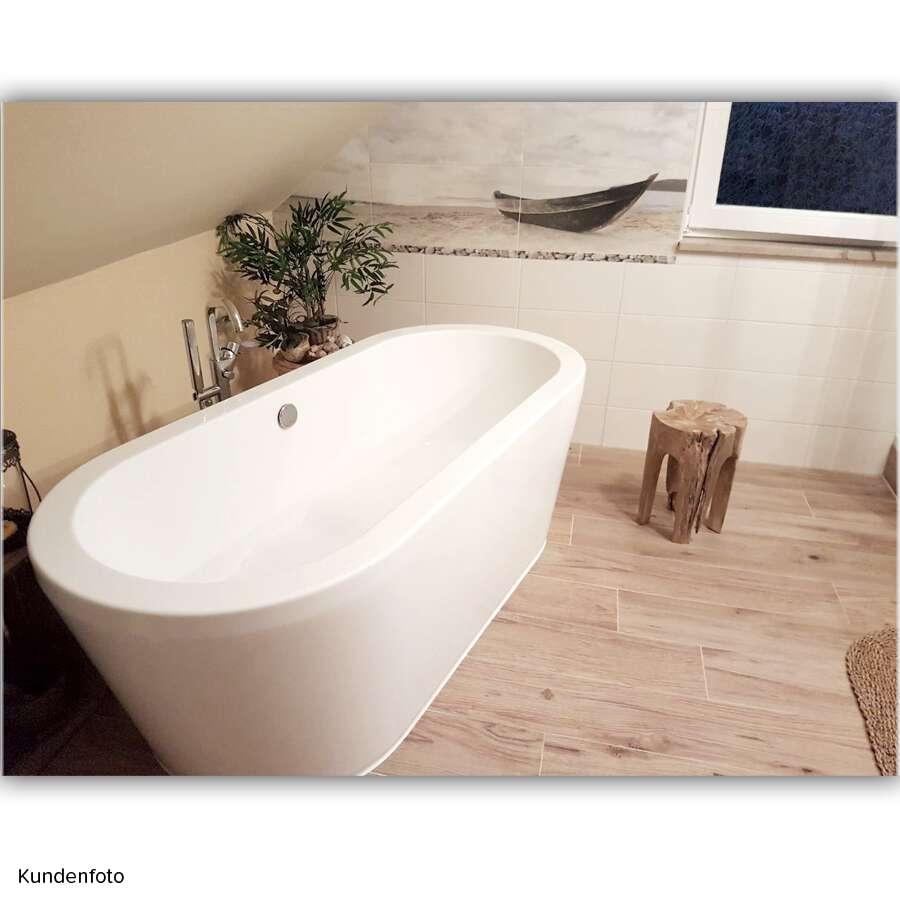 duschmeister freistehende badewanne london 180 x 80 703202. Black Bedroom Furniture Sets. Home Design Ideas