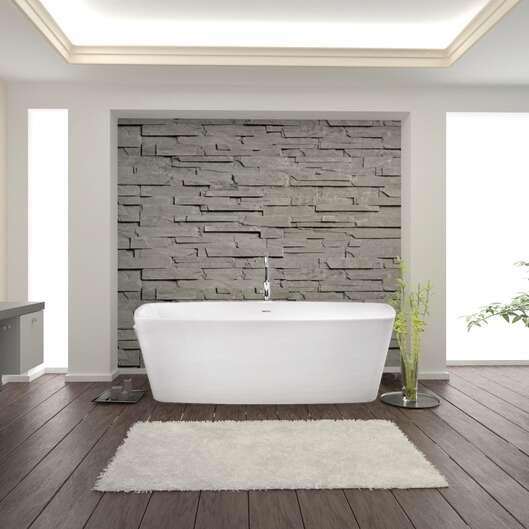 duschmeister freistehende badewanne paris 170 x 80 703601. Black Bedroom Furniture Sets. Home Design Ideas