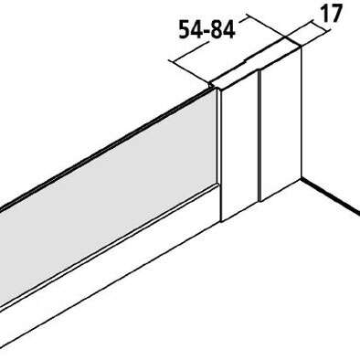 kermi nova 2000 verk rzte seitenwand f r gleitt r 3 tlg express. Black Bedroom Furniture Sets. Home Design Ideas