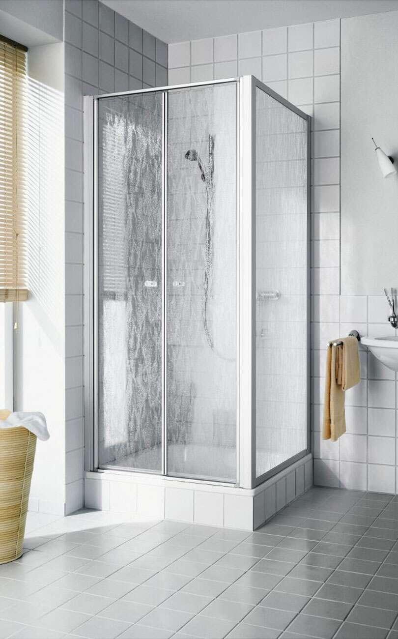Dusche Mit Kabine. Simple Dusche Kabine Mit Glas Auf Dusche Wanne In ...