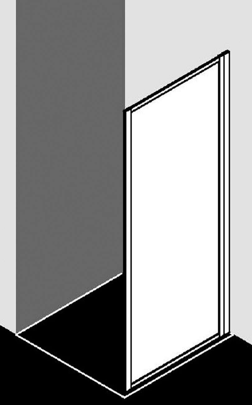 kermi nova 2000 seitenwand f r gleitt r 2 tlg an festteil. Black Bedroom Furniture Sets. Home Design Ideas