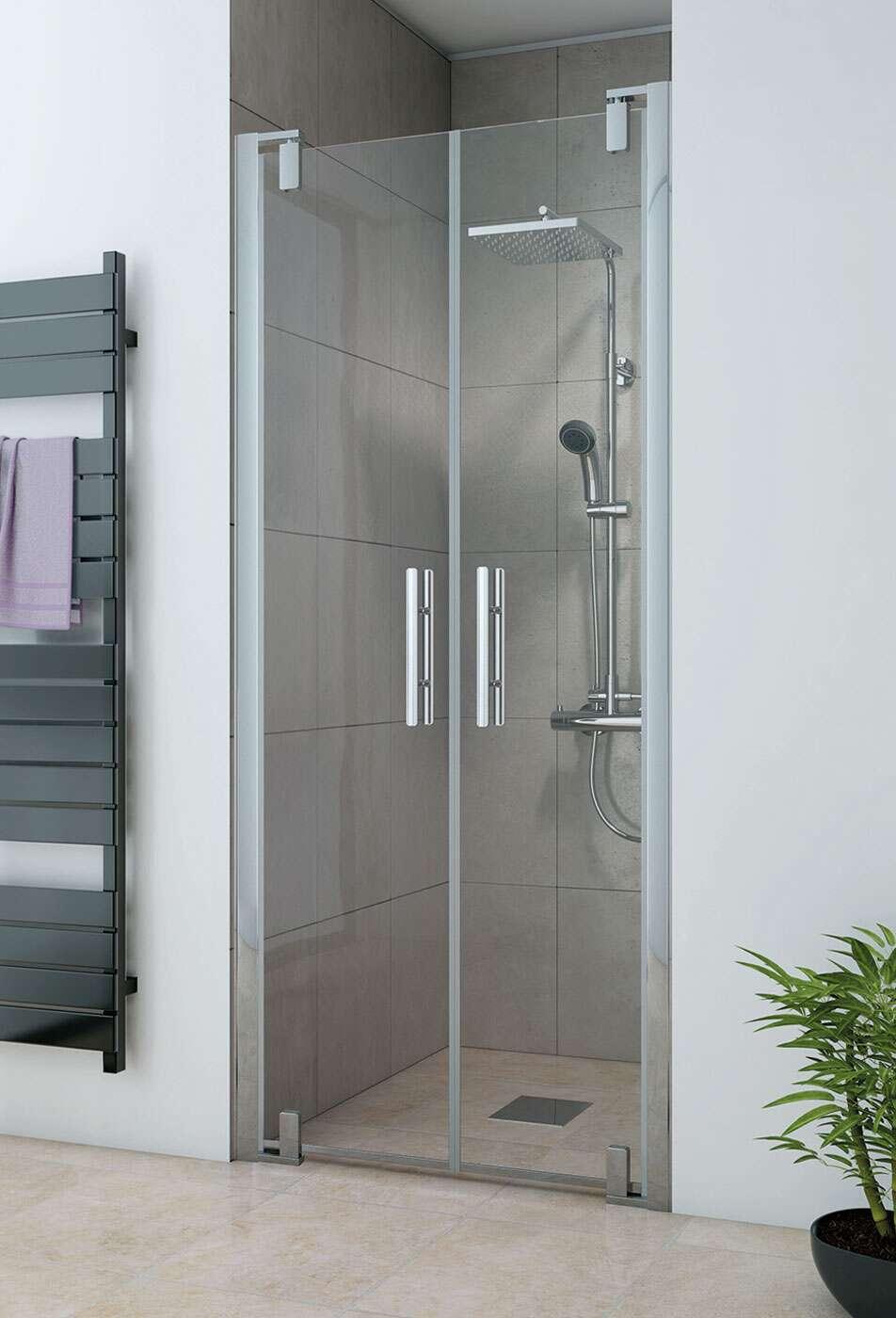 breuer dusche europa design pendelt r f r nische. Black Bedroom Furniture Sets. Home Design Ideas