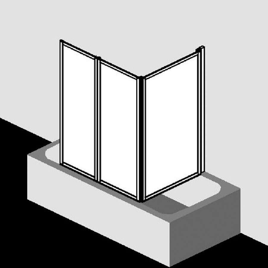 kermi vario 2000 badewannenfaltwand ber badewanne. Black Bedroom Furniture Sets. Home Design Ideas