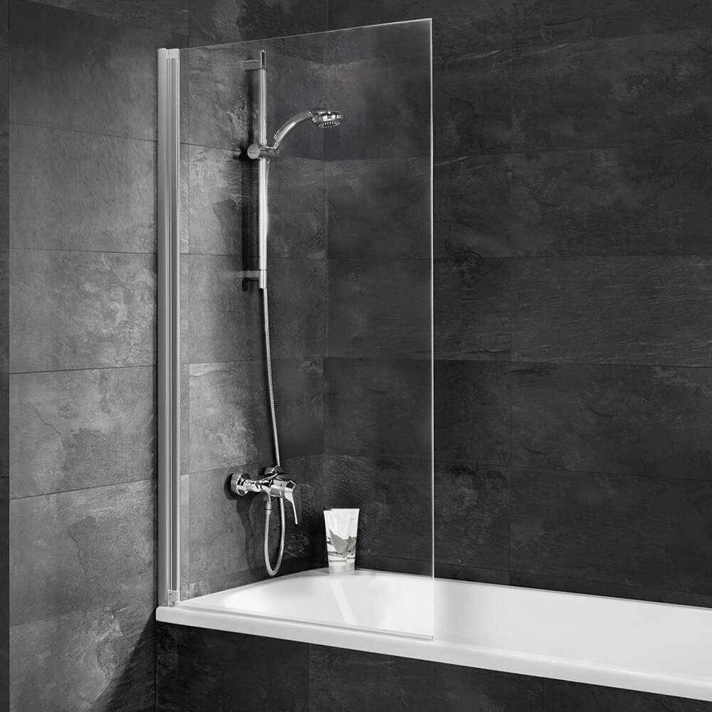schulte einfach ohne bohren badewannenaufsatz 130 1 teilig d 34513 01 50. Black Bedroom Furniture Sets. Home Design Ideas