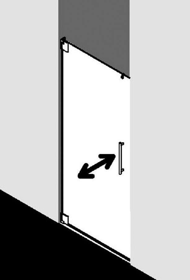 kermi pasa pendelt r 1 fl gelig f r nische. Black Bedroom Furniture Sets. Home Design Ideas