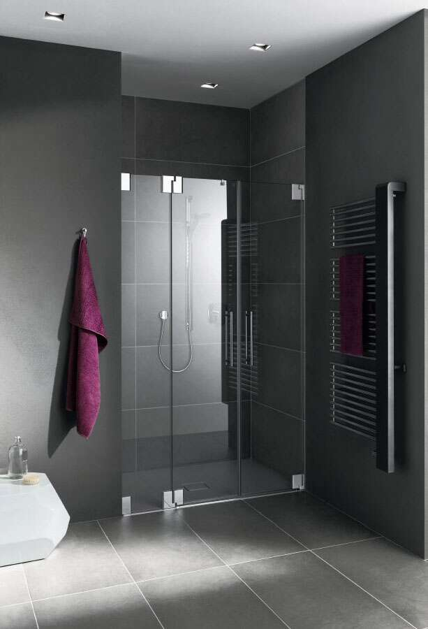 kermi pasa pendelt r mit festteil f r nische. Black Bedroom Furniture Sets. Home Design Ideas