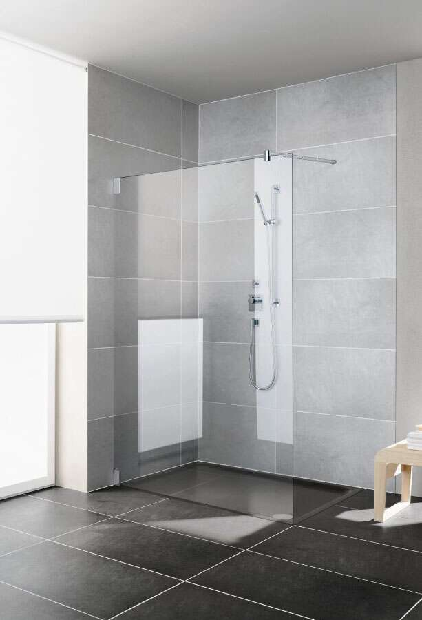 kermi pasa walk in duschwand. Black Bedroom Furniture Sets. Home Design Ideas