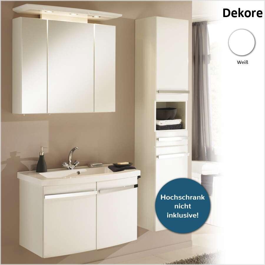 duschmeister spar set sylt waschplatz 80 cm set 3 teilig. Black Bedroom Furniture Sets. Home Design Ideas