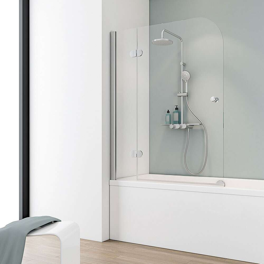 schulte masterclass badewannenaufsatz 2 teilig. Black Bedroom Furniture Sets. Home Design Ideas